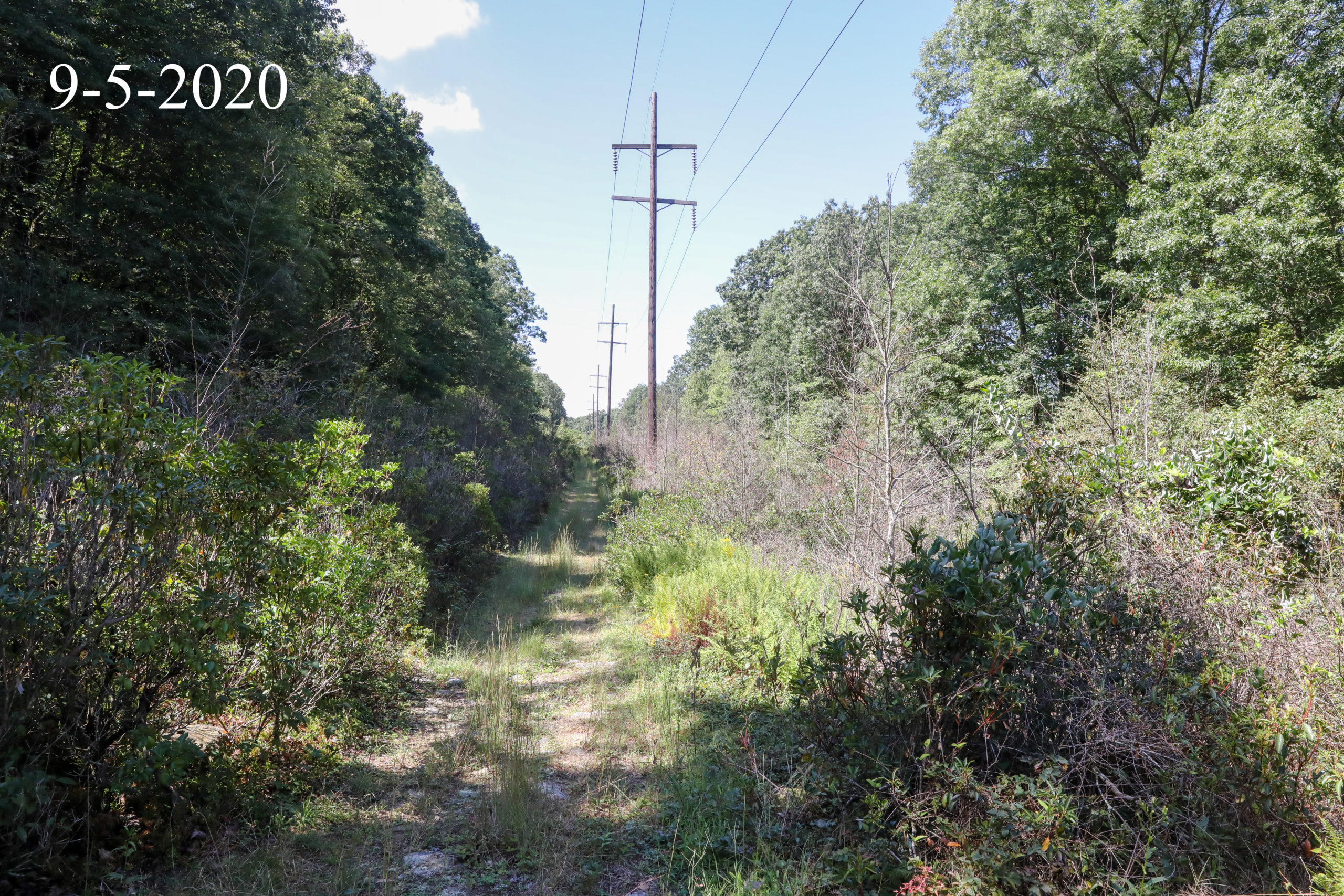 Williamstown to Lykens Transmission Line Pre Construction Video and Photography