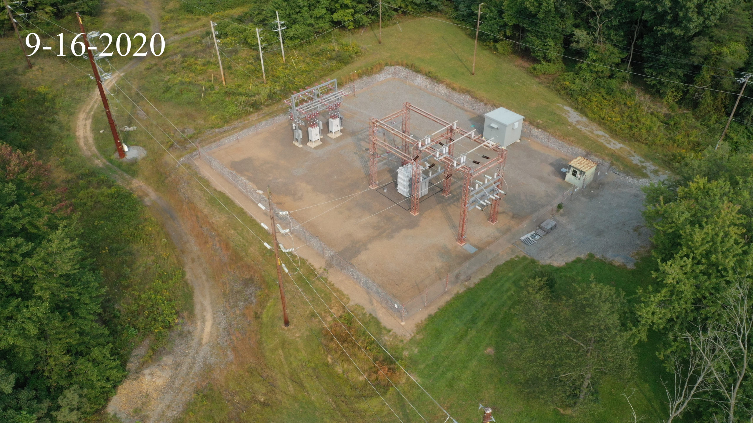 Lykens to Gratz Tap Transmission Line Pre Construction Video and Photography
