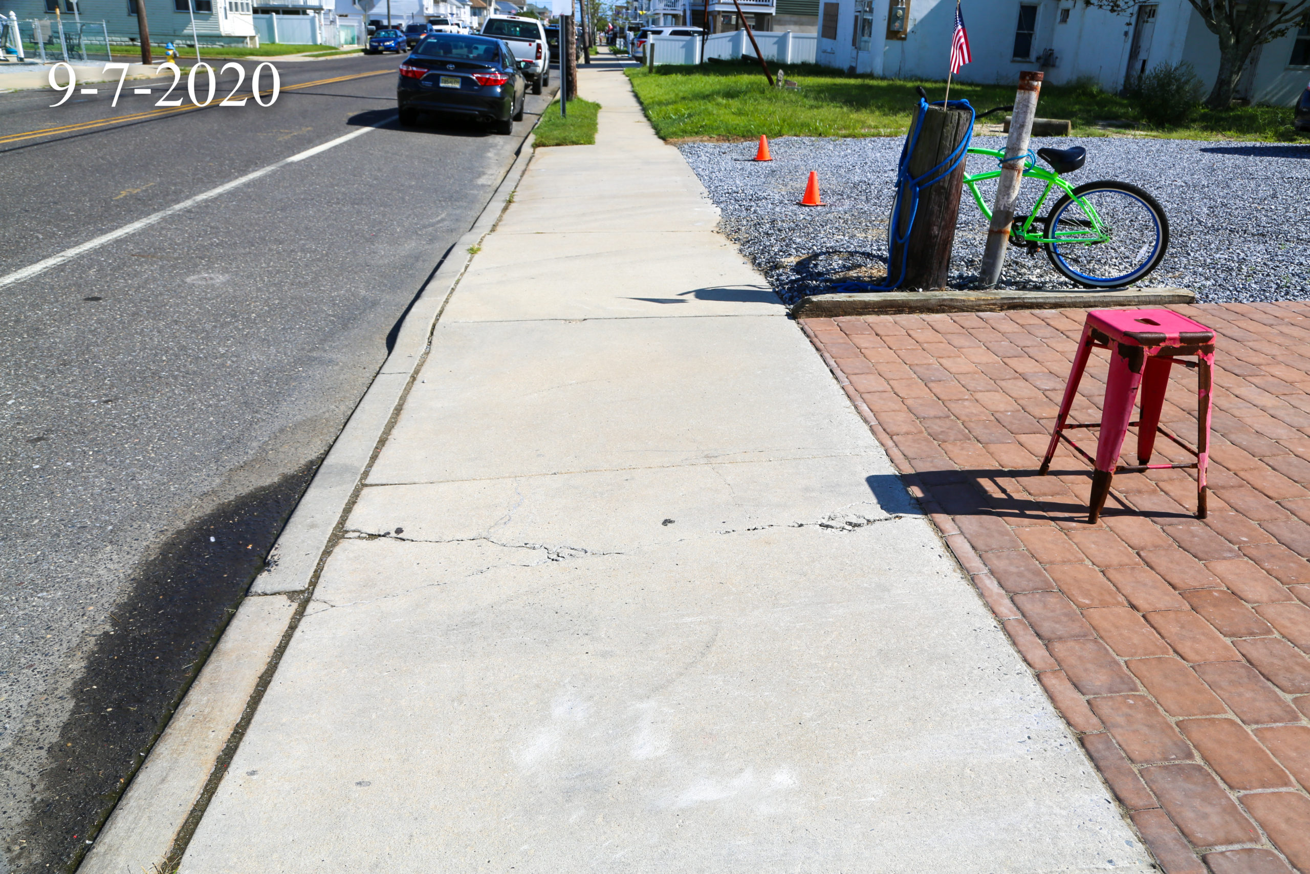 West Wildwood New Jersey, Pre Construction Video and Photography, September 2020
