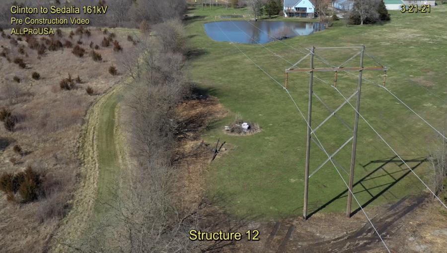 Clinton to Sedalia 161kV Transmission Line