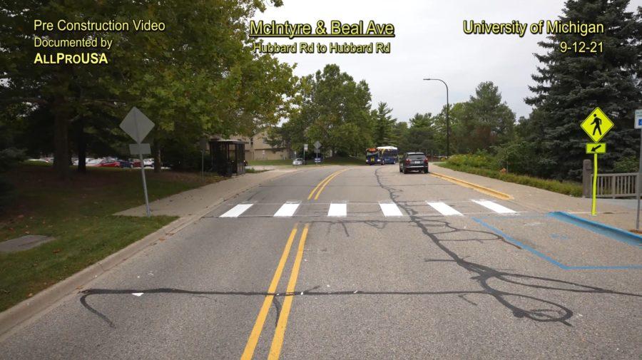 Ann Arbor, Washtenaw County, Michigan, Pre Construction Video